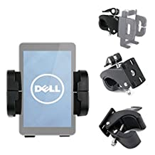 Exclusive DURAGADGET Golf Buggy Clamp & Bike Handlebar Mount Attachment and Smartphone Holder for the Dell Venue 7, Dell Venue 8 & Dell Venue Pro