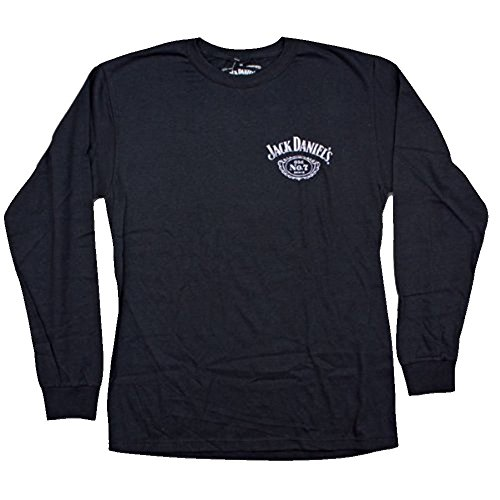 Jack-Daniels-Long-sleeved-Label-T-shirt
