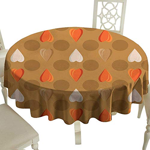 WinfreyDecor Washable Table Cloth Seamless Polka dot Pattern Background for Albums scrapbooks Decorating Arts and Crafts Bright Texture in Polka dots Great for Buffet Table D35