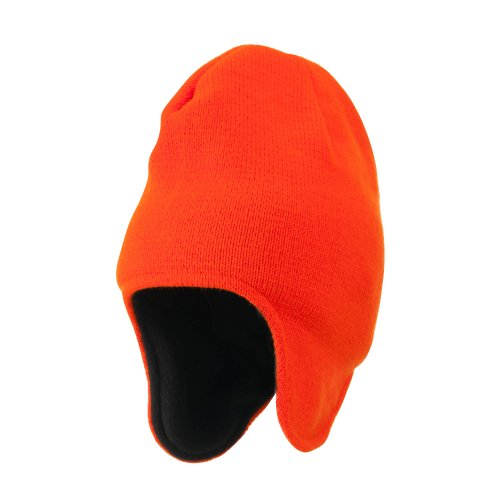 (Artex Blaze Ear Cover Beanie - Blaze OSFM Orange)