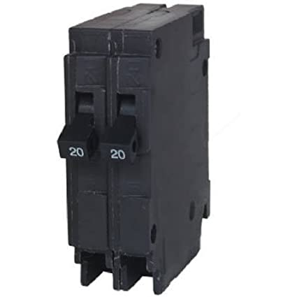 Murray MP2020 Two 20-Amp Single Pole 120-Volt Circuit Breaker ...