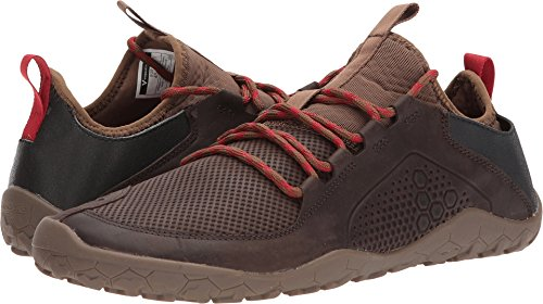 Treck Men's Lightweight Off Road Trail Walking Shoe, Dark Brown, 42 D EU (9 US) ()