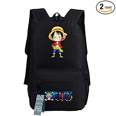 Amazon com : SCT One Piece Luffy Cartoon Teens Boys Girls Students