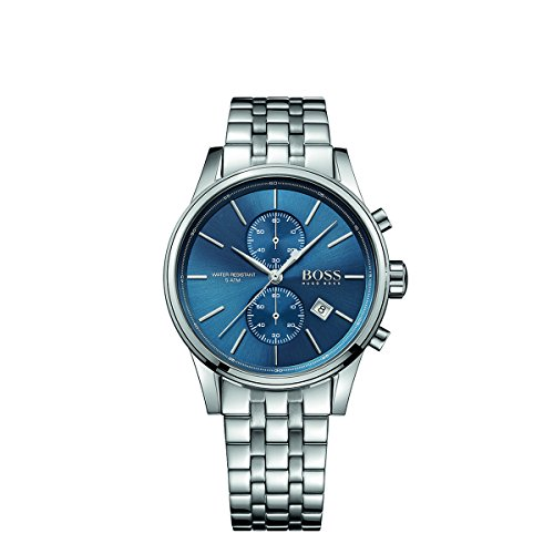 Hugo Boss 1513384 Blue Dial Jet Mens Chronograph Watch