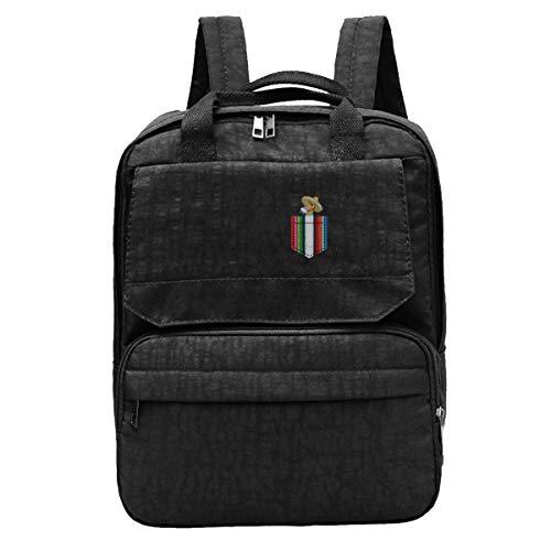 Cool Pocket Trojan Unisex Travel Backpack Adjustable Shoulders Bag For Camping