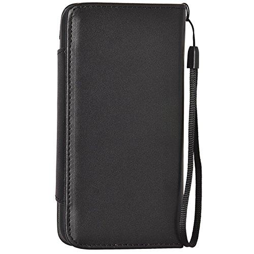 Phone Taschen & Schalen 2 in 1 Trennbare Wallet Style Magnetische Flip PU Ledertasche mit Lanyard für iPhone 6 Plus & 6S Plus ( Color : Black )