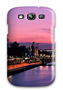New Snap-on HermanLWilliams Skin Case Cover Compatible With Galaxy S3- City Of Paris