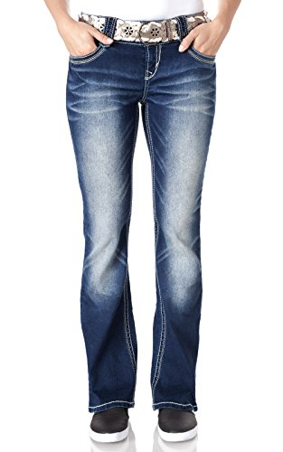 WallFlower Jeans Legendary Belted Boot product image