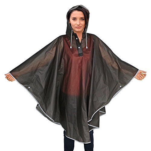 Festivals Aibrou Adult Emergency Raincoat Waterproof Rain Ponchos with Hoods
