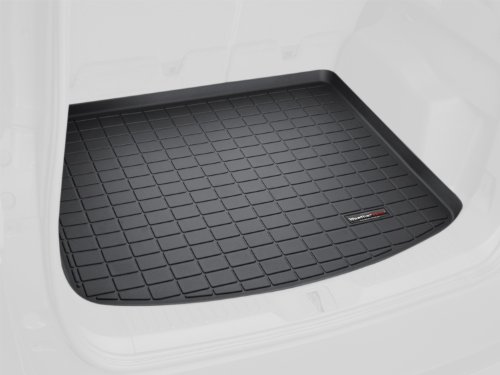 WeatherTech Custom Fit Cargo Liners for Porsche Cayenne, Black by WeatherTech