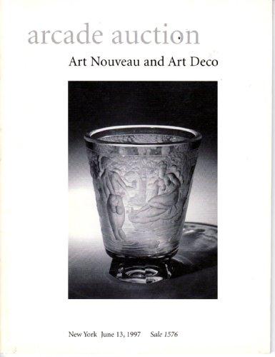 Arcade Auction: Art Nouveau and Art Deco: New York, June 13, 1997