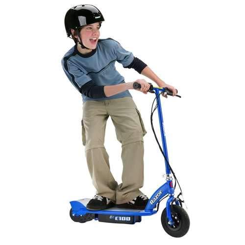 Razor E100 Electric Scooter (Blue) by Razor (Image #3)