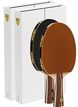 Killerspin Jet200 Mocha Table Tennis Paddles – Double Pack of Paddles That Offer a Great Balance Between Speed and Control