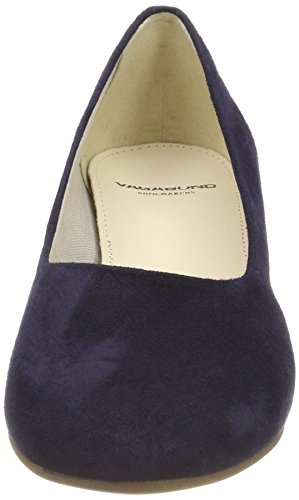 Jamilla Blue Blue Heels Vagabond Women's Toe Dark 7 UK 64 Nero Closed qBp5F