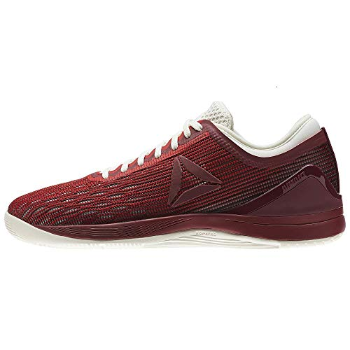 - Reebok Crossfit Nano 8.0 Flexweave Cross Trainer - Primal Red-Urban Maroon-Chalk-Black - Womens - 6