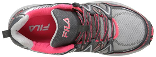 Headway Metallic 6 Pink Shoe Diva Castlerock Silver Fila Women's Running 6qAXx5x