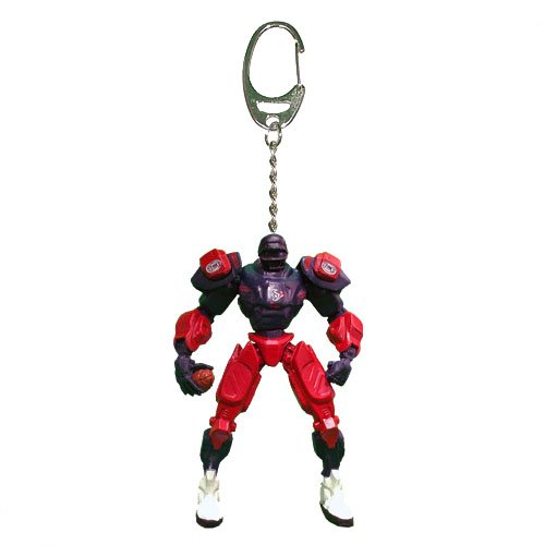 NFL Houston Texans Fox Sports Team Robot Key Chain, 3-inches