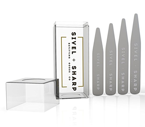 set-of-36-stainless-steel-collar-stays-by-sivel-sharp-durable-heavy-duty-material-luxury-mens-shirt-