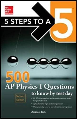 Amazon 5 steps to a 5 500 ap physics 1 questions to know by 5 steps to a 5 500 ap physics 1 questions to know by test day mcgraw hills 500 questions to know by test day 1st edition fandeluxe