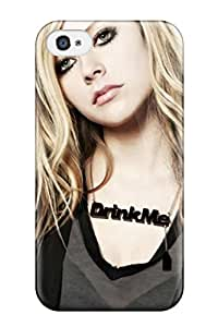Awesome Design Avril Lavigne Hard Case Cover For Iphone 4/4s