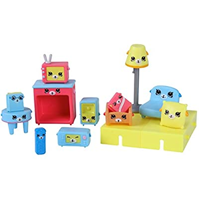 Happy Places Shopkins Decorator Pack Puppy Parlour: Toys & Games