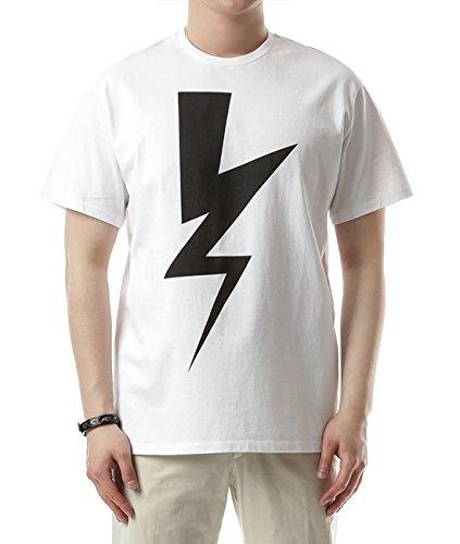 wiberlux-neil-barrett-mens-contrast-thunder-print-round-neck-t-shirt-l-loose-fit-white