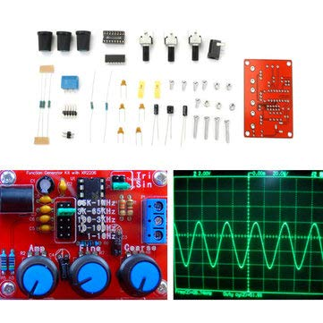 Amazon com: XR2206 Function Signal Generator Kit Sine
