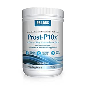 Prost-P10x Prostate Supplement for Urinary and Prostate Health ​- 180 Capsules - Doctor Formulated​ - Clinical Strength
