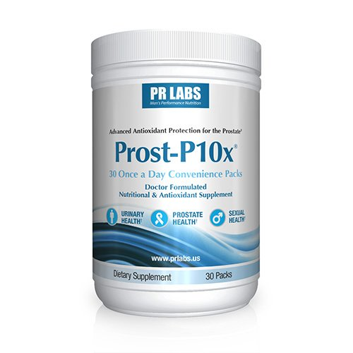Prost-P10x Prostate Health Supplements for Men - Saw Palmetto - Quercetin - Bee Pollen - Pygeum - Doctor Formulated​ - 100% Better Prostate + Urinary Health - Advanced 4-Way Action Formula
