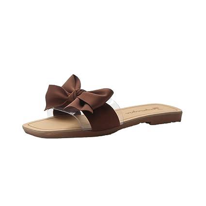 c3d1f9563c719 Amazon.com: Mother's Day Sale! Jiayit Women Slip on Slipper Shoes ...