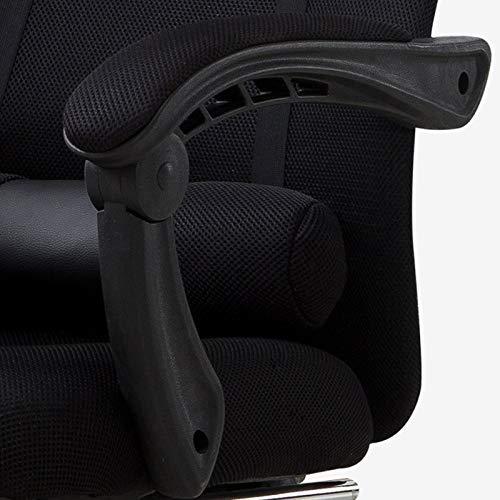 DHR Stolar kontor svängbar stol dator stol hem bekväm spelstol roterande lyft sportstol liggande kontorsstol student sovrum stol (färg: D) b