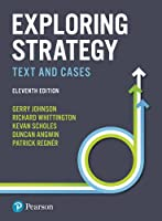Exploring Strategy Text and Cases Front Cover