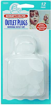 Mommy's Helper Outlet Plugs, 12 Count