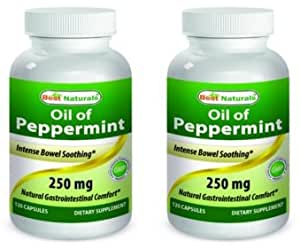 Best Naturals Peppermint Oil Capsules