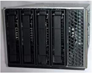 """Intel 3.5 Inch Hot-Swap Drive Bay Kit Aup4X35S3Hsdk 3.5"""" Carrier Panel Black,stainless Steel"""