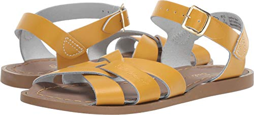 Salt Water Sandals by Hoy Shoes Baby Girl's The Original Sandal (Toddler/Little Kid) Mustard 2 M US Little Kid]()