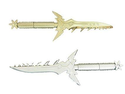 1 x oro o plata (color al azar enviados) Fantasía cuchillo ...