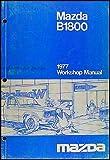 1977 Mazda B1800 Repair Shop Manual Original