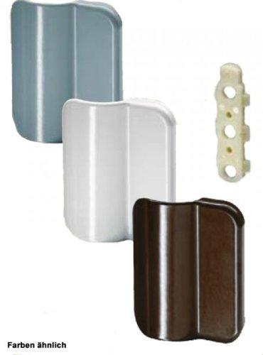 ToniTec® Ziehgriff Balkontürgriff ALU Balkontür Griff, Farbe:weiß (RAL 9016)