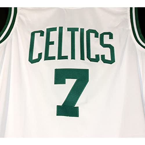 meet 7dcb6 1ac5d Jaylen Brown Boston Celtics Signed Autographed White #7 ...