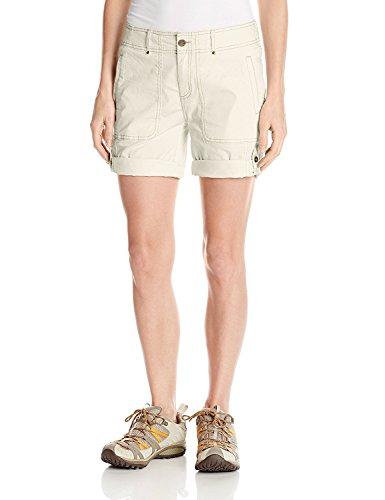 Creme Short (Royal Robbins Women's Marly Roll-up Shorts, Creme, Size 12)