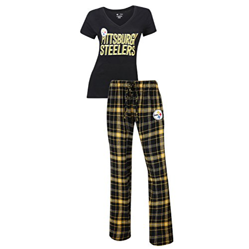 Pittsburgh Steelers Halftime Women's Sleep Set, Large