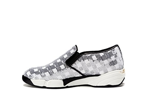 PINKO Sneakers Donna SEQUINS Slip-On Con Paillettes Tg. 41