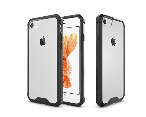 Apple iPhone 7 / iPhone 8 4.7 pouces - Coque Bumper anti choc contour noir smartphone - Accessoires pochette XEPTIO : Exceptional case !
