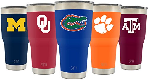 University Metal (Simple Modern University of Florida 30oz Cruiser Tumbler - Vacuum Insulated Stainless Steel Travel Mug - UF Go Gators Tailgating Hydro Cup College Flask)