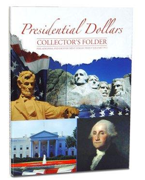 Presidential Dollars Collector's Folder P&D Vol 2 2280 Whitman New Folder