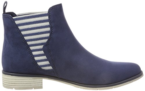Tozzi Botas Azul para Chelsea 25305 Marco Navy Mujer fPqwgw