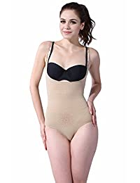 Franato Women's Shapewear Tourmaline Far Dot Open Crotch Body Shaper