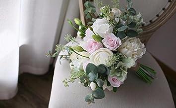 Amazon De Zttlol Sommer Hochzeit Brautstrauss Tischdekoration