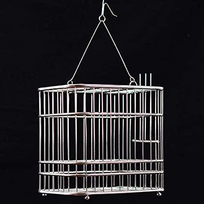 Jaula de pájaros de metal Jaula de pájaros de alto grado Se posa ...